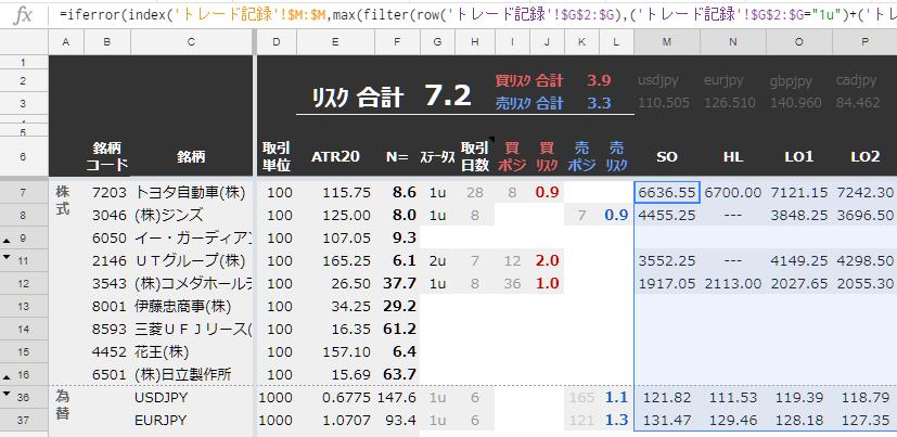 関数の使用例|Index(_ ,max(filter(row(_) ,_複数条件_)))