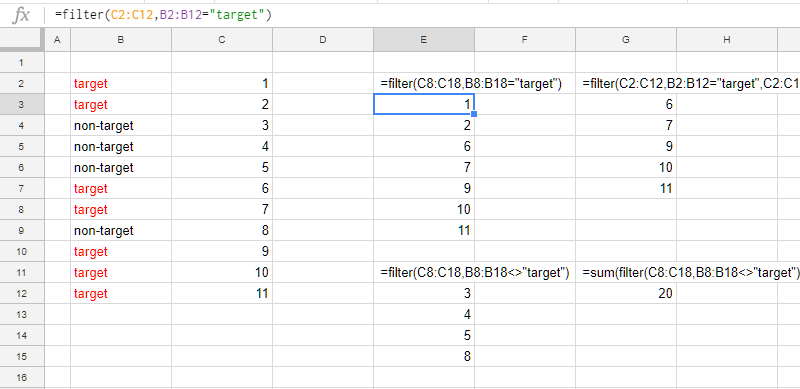 Googleスプレッドシートの関数|Filter()
